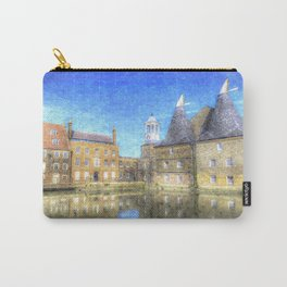 Three Mills Bow London Art Carry-All Pouch