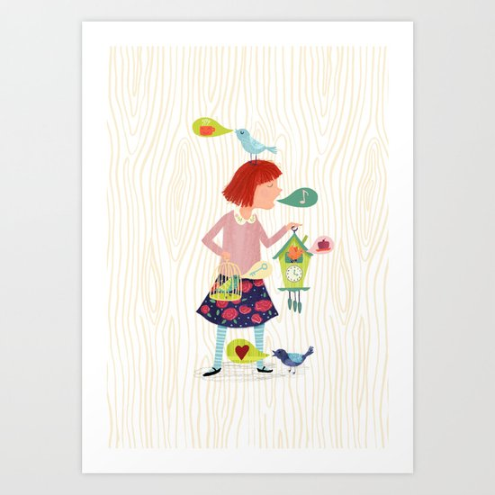 Song of the Cuckoos Art Print