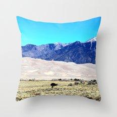 Great Sand Dunes Throw Pillow