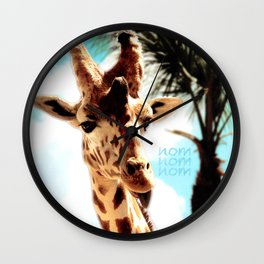 Some tounges Its Not Enough Wall Clock
