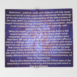 Cooperation - Quote Throw Blanket