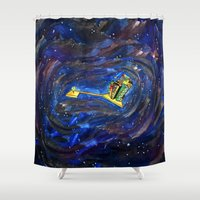 key Shower Curtains featuring Key by TAG Théo Audoire Galerie