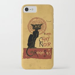 Le Chat Noir iPhone Case