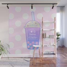 Gamer Bubble Tea Wall Mural
