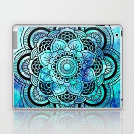 Galaxy Mandala Aqua Indigo Laptop & iPad Skin