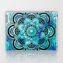 Galaxy Mandala Aqua Indigo Laptop & iPad Skin
