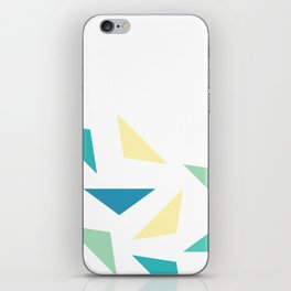 triangle corner iPhone Skin