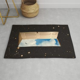 The Portal: From The Stars To The Clouds Rug