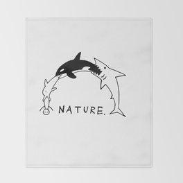 Nature Throw Blanket