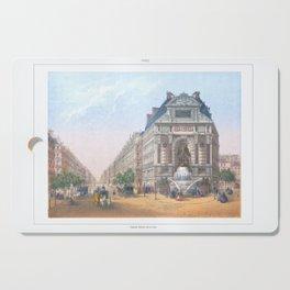 Paris Decor office decoration vintage decor FONTAINE St MICHEL of Paris Cutting Board
