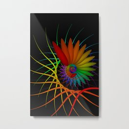 turn around with colors -6- Metal Print