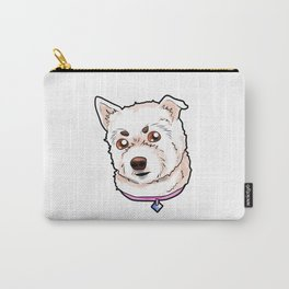 West Highland White Terrier Westie Dog Doggie Pup Carry-All Pouch