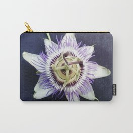 flower and nature - blue flower Carry-All Pouch