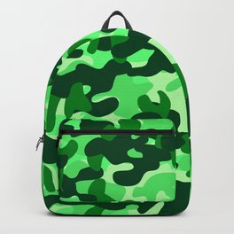 Camouflage (Green) Backpack