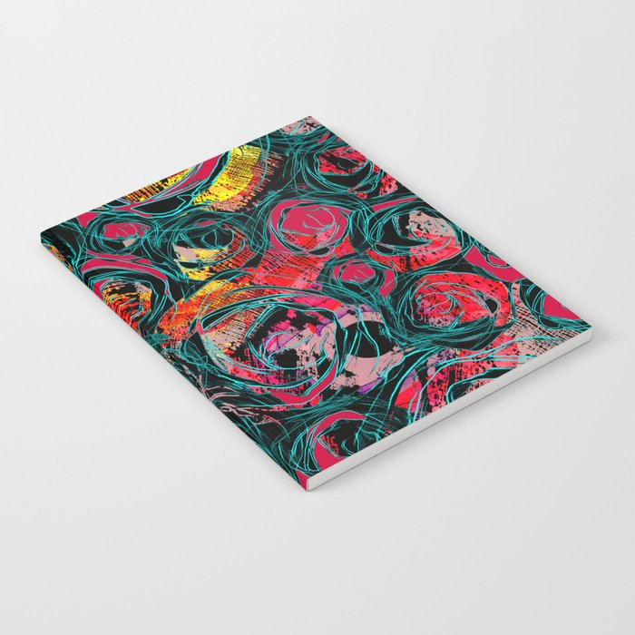 Floral abstract(36). Notebook