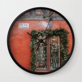 Lilla Torg Malmö Wall Clock