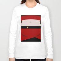 picard Long Sleeve T-shirts featuring Ensign Ro Laren - Minimalist Star Trek TNG The Next Generation - trektangle - Bajoran by Trektangles