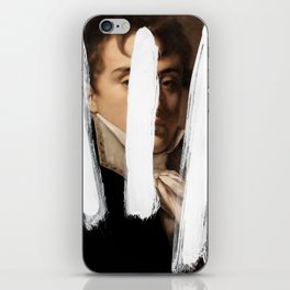 Brutalized Portrait of a Gentleman 2 iPhone Skin