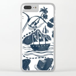 A Vivid Imagination Clear iPhone Case