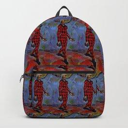 """Paul Cezanne """"Harlequin"""", 1889 Backpack"""