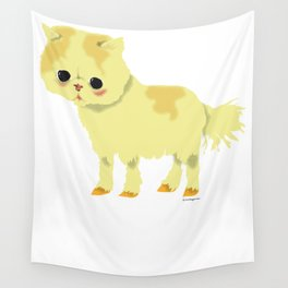 CHAT-PONEY Wall Tapestry