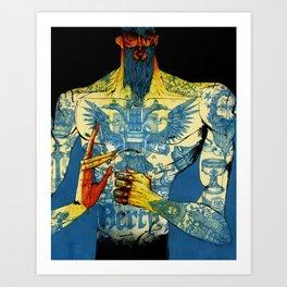 Mercy. Art Print