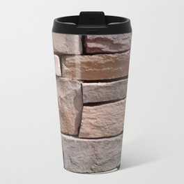 Artisan Masonry Stone House Front Detail 001 Travel Mug