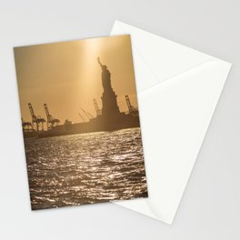 """Lady Liberty 2"" by Murray Bolesta Stationery Cards"