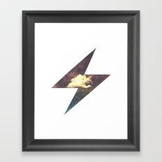 Roaring Thunder Framed Art Print