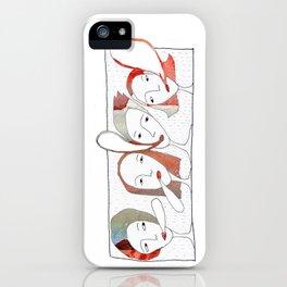 Le Quattro Grazie iPhone Case