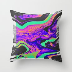 TRANSMISSION Throw Pillow