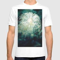 Firework Mens Fitted Tee White MEDIUM