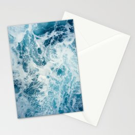 Rough Sea - Ocean Photography Stationery Cards