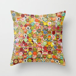 Soda Pop Me Throw Pillow