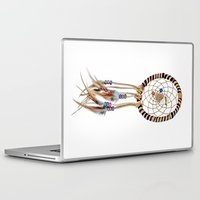 spiritual Laptop & iPad Skins featuring Spiritual Dreamcatcher by Bruce Stanfield Photographer