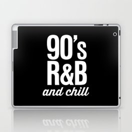 90's R&B and Chill Vintage Retro Typography Laptop & iPad Skin