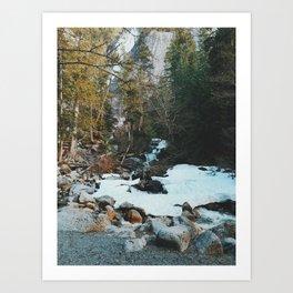 Brandywine Falls Creak Art Print