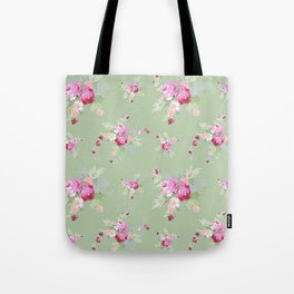 Rosanna on Green Tote Bag