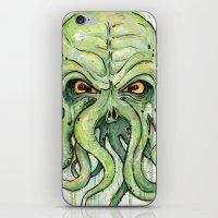 cthulhu iPhone & iPod Skins featuring Cthulhu by Olechka