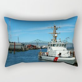 US Coast Guard On Columbia River Rectangular Pillow