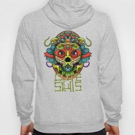 Cute Skull Dia de Los Muertos Hoody