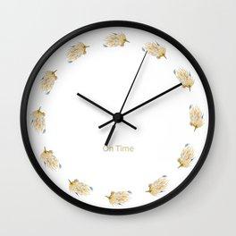 Echidna Conversations Wall Clock