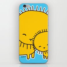 Lion Hug iPhone & iPod Skin
