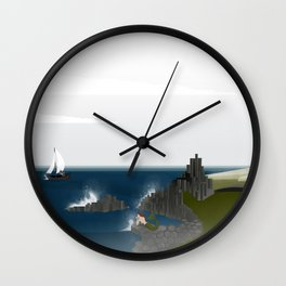 Creatures of the North: Mermaid Wall Clock