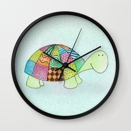 Little Claire's Turtle Wall Clock
