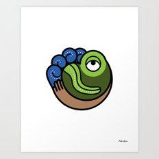Hacienda San Lucas Toad Art Print