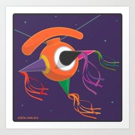piñ.eye.ta Art Print