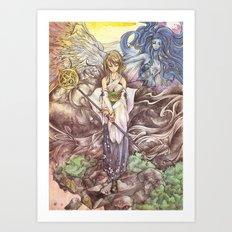 Final Fantasy X - High Summoner  Art Print