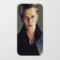 bill iPhone & iPod Cases featuring Bill by Aubrey Meeks