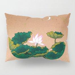 Minhwa: Lotus Pond at Night A Type Pillow Sham